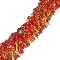 Мишура новогодняя 2 метра 11см ″Ярмарка″ красный, золото купить оптом и в розницу