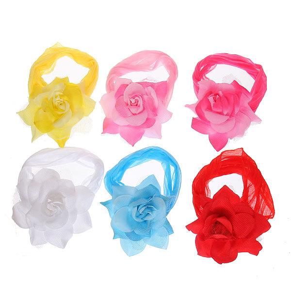 Резинка для создания греческой прически ″Роза″, цвет микс купить оптом и в розницу