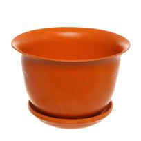 Горшок для цветов ЭКО Тюльпаны″ 18*23см 4А оранжевый купить оптом и в розницу