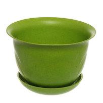Горшок для цветов ЭКО Тюльпаны″ 18*23см 4А зеленый купить оптом и в розницу