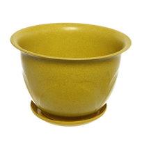 Горшок для цветов ЭКО Тюльпаны″ 28*20см 4С желтый купить оптом и в розницу