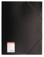 Папка на резинке Erich Krause черная 0,40мм купить оптом и в розницу