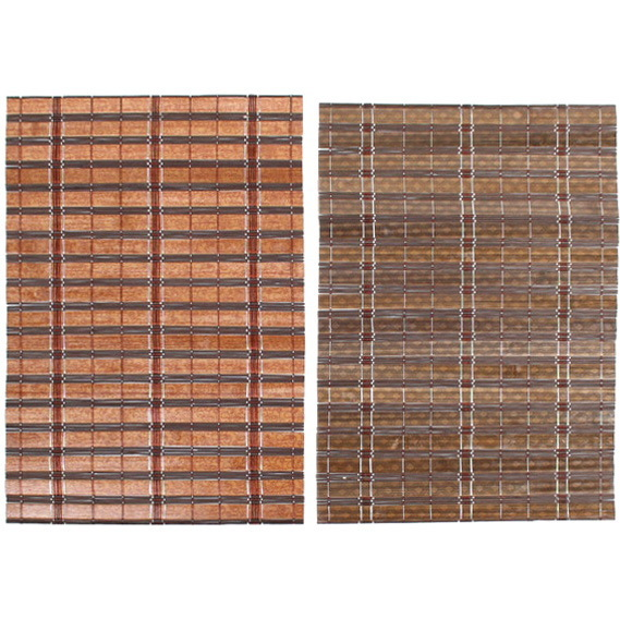 Салфетка на стол 30*45см бамбуковая микс темная купить оптом и в розницу