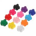Заколка-краб для волос ″Амели - кружевной цветок″, цвет микс 4см купить оптом и в розницу