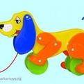 Каталка Собака Боби 5434 /П-Е/12/ купить оптом и в розницу