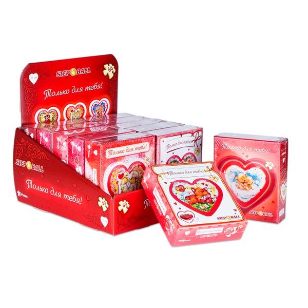 Пазл-шар 60 Сердце 98132 Степ /24/ купить оптом и в розницу