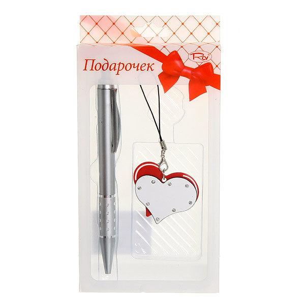 Подарочный набор (ручка+подвеска ″Сердечки″) ТВ-03 купить оптом и в розницу