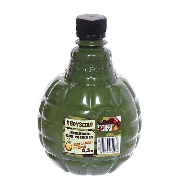 Жидкость для розжига, граната парафиновая 0.5л, BOYSCOUT купить оптом и в розницу