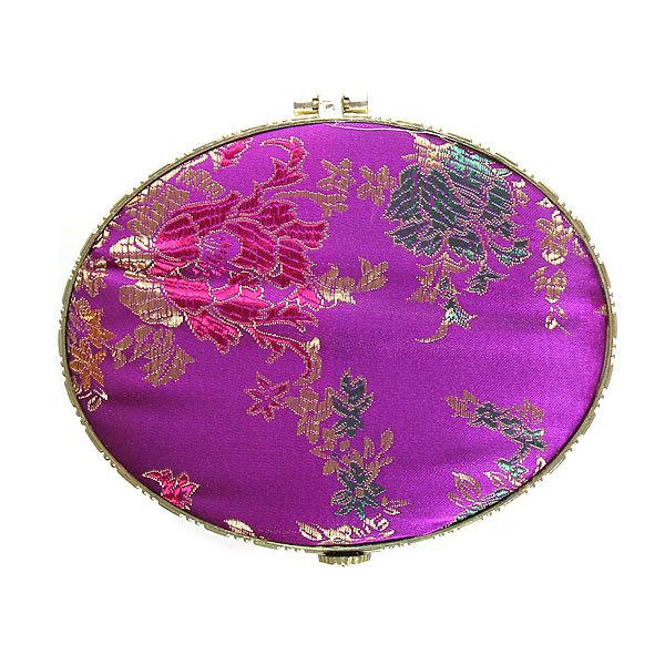 Зеркало косметическое ″Восток″ овал, цвета в ассортименте 9,5см купить оптом и в розницу