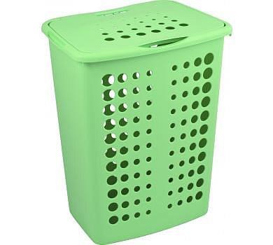 Бельевая корзина VICTOR Curver 40л зеленый/*5 шт (45,4.х34,1х57,1) купить оптом и в розницу