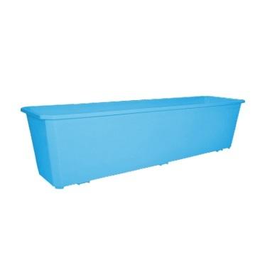 Ящик балконный 60 см светло-синий  *20 купить оптом и в розницу