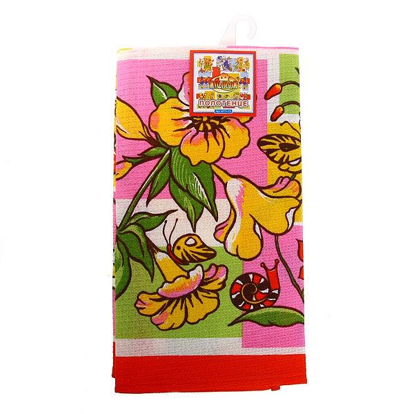 Полотенце кухонное 48*62см Лето 3 дизайна МТ71-73 купить оптом и в розницу