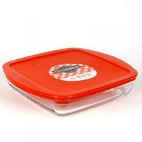 Блюдо квадратное с крышкой O CUISINE 22см (1/5) купить оптом и в розницу