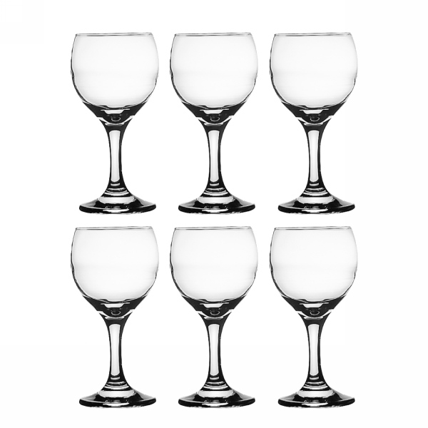 Набор фужеров для красного вина 6шт 240мл ″Империал Плюс″ (1/4) 44799Бор купить оптом и в розницу