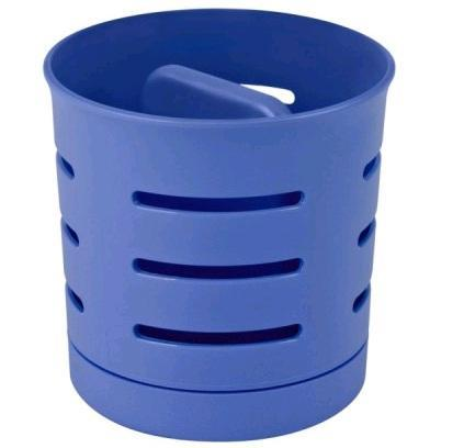 Сушилка для столовых приборов 2-х камерная chef@home синий Curver/*9 шт купить оптом и в розницу