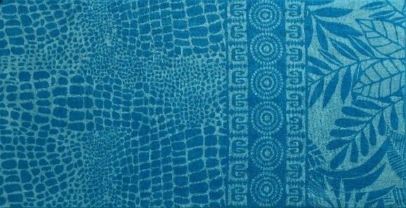 ПЦ-2602-1943 полотенце 50x90 махр п/т Turchese цв.10000 купить оптом и в розницу