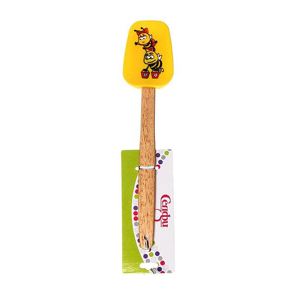 Лопатка силиконовая с рисунком ″Пчелки″ Селфи купить оптом и в розницу