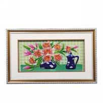 Картина объемная 35*57см ″Цветы″ E-3 купить оптом и в розницу