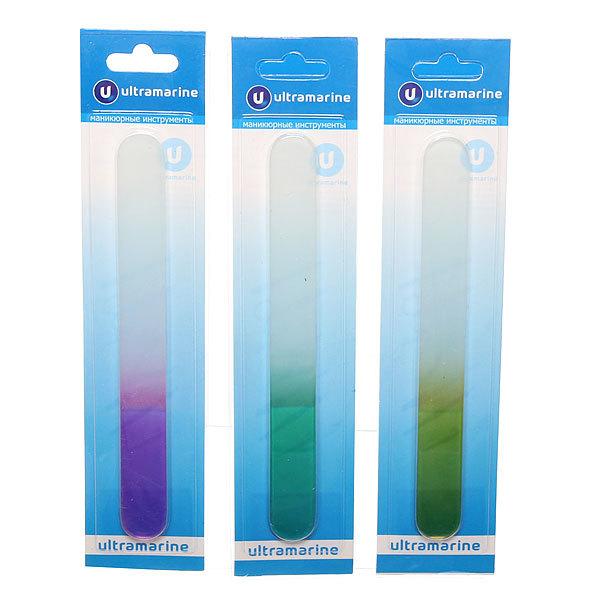 Пилка для ногтей стеклянная на блистере ″Ультрамарин″, ручка однотонная в ассортименте,18см купить оптом и в розницу