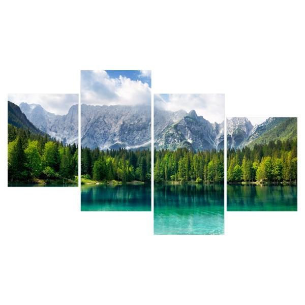 Картина модульная полиптих 60*129 Природа диз.4 6-03 купить оптом и в розницу