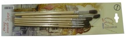 Кисти   набор Белка 6шт (№1-6) YIWU купить оптом и в розницу