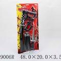 Набор оружия 1190RZ Ниндзя на листе купить оптом и в розницу