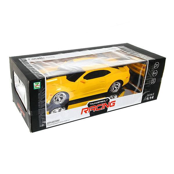 Машина на радиоуправлении гоночная желтая, масштаб 1:14 купить оптом и в розницу