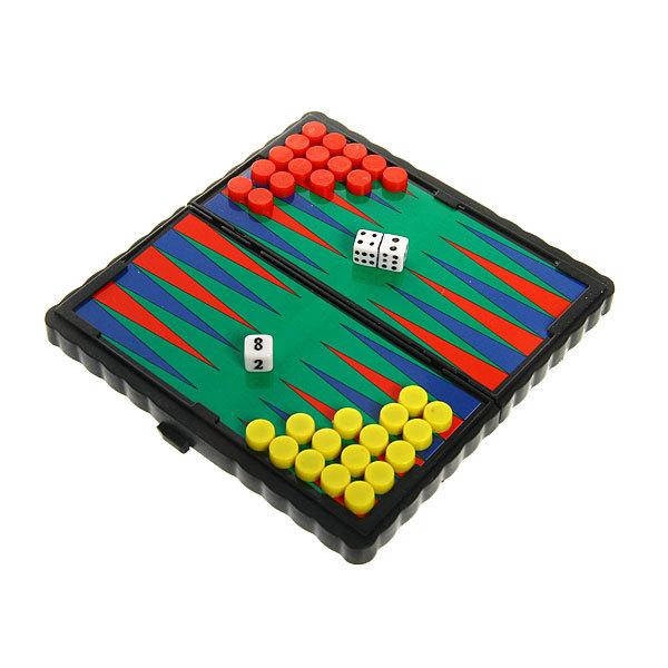 Игра настольная магнитная Нарды 12х12см в блистере купить оптом и в розницу
