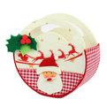 Сумочка подарочная d17 см ″Дед мороз″ купить оптом и в розницу