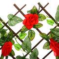 Изгородь декоративная ″Роза красная″ (70 x 130cм) (CF2106) купить оптом и в розницу