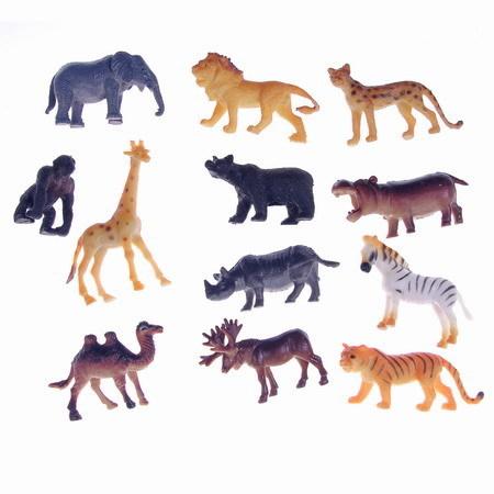 Набор животных 1toy Т50463 Зоопарк купить оптом и в розницу