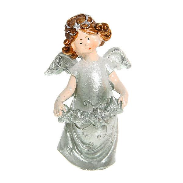 Фигурка ″Ангелочек серебряный″ 10*5,5см (цена за 1шт)TS140311АВ купить оптом и в розницу
