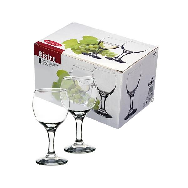 Набор бокалов для белого вина 6шт 175мл ″Бистро″ купить оптом и в розницу