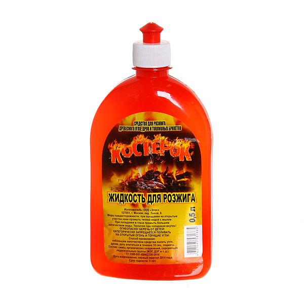 Жидкость для розжига 0,5л, Костерок купить оптом и в розницу