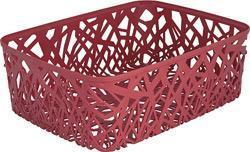 Корзинка прямоуг. NEO COLORS розовый/*6 шт (37,7х29х12,7)см Curver купить оптом и в розницу