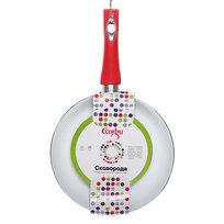 Сковорода ″Селфи-Рубин″ d-22 см 2 мм с керамическим покрытием, силиконовая ручка купить оптом и в розницу