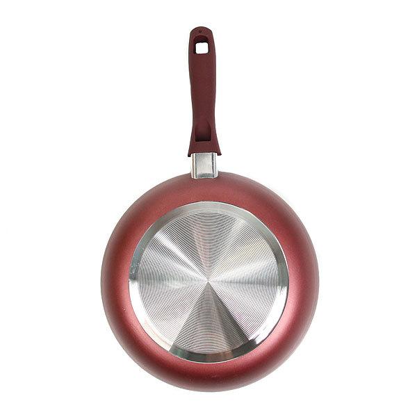 Сковорода ″Селфи-Стиль″ d-28 см 2,5 мм с керамическим покрытием с силиконовой ручкой купить оптом и в розницу