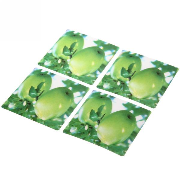 Подставка под кружку 3D в наборе 4шт ″Яблоки″ купить оптом и в розницу