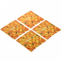 Подставка под кружку 3D в наборе 4шт ″Апельсин″ купить оптом и в розницу