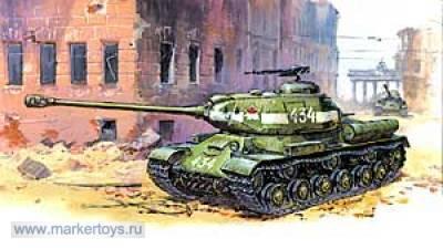 """Сб.модель 3524 советский танк""""Ис-2"""" купить оптом и в розницу"""