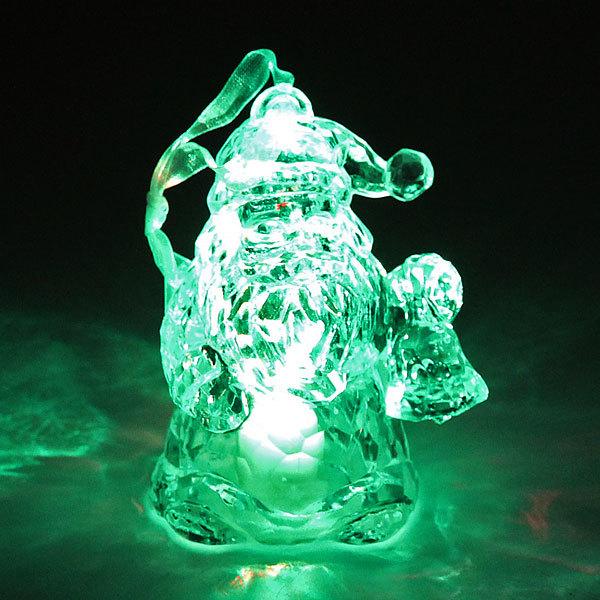 Фигурка с подсветкой ″Дед мороз″ 9см купить оптом и в розницу