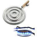 Рассекатель пламени для газовых плит (с ручкой), AN80-32 купить оптом и в розницу