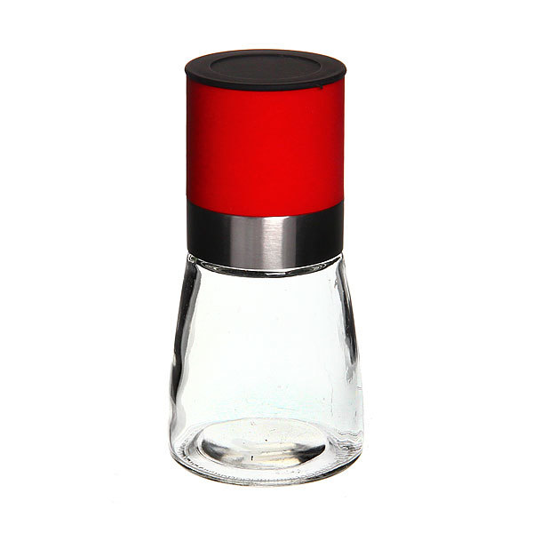 Мельница для специй 13,5см пластиковая прозрачная купить оптом и в розницу