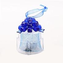 Фигурка с подсветкой ″Подарок синий бант″ 6*5см купить оптом и в розницу