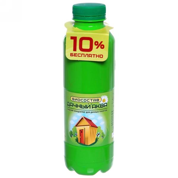 Биосостав для дачных туалетов жидкий концентрат 0,5 л ″Дачный - Аква″ купить оптом и в розницу