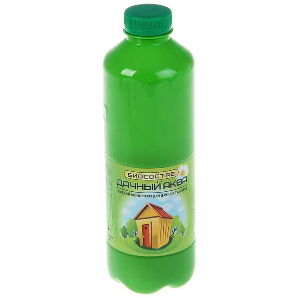 Биосостав для дачных туалетов жидкий концентрат 1 л ″Дачный - Аква″ купить оптом и в розницу