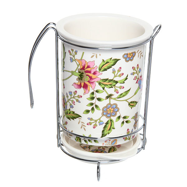 Подставка для кухонных приборов ″Цветы″ купить оптом и в розницу