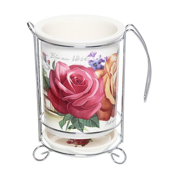 Подставка для кухонных приборов ″Розы″ купить оптом и в розницу