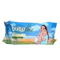 Салфетки влажные детские 72шт Bubu Bebe классик купить оптом и в розницу