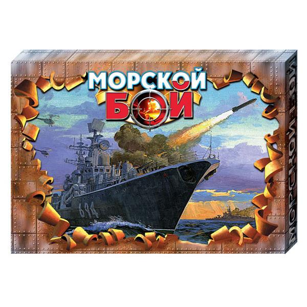 Игра Морской Бой -1 РФИ (м/г) 00992 купить оптом и в розницу